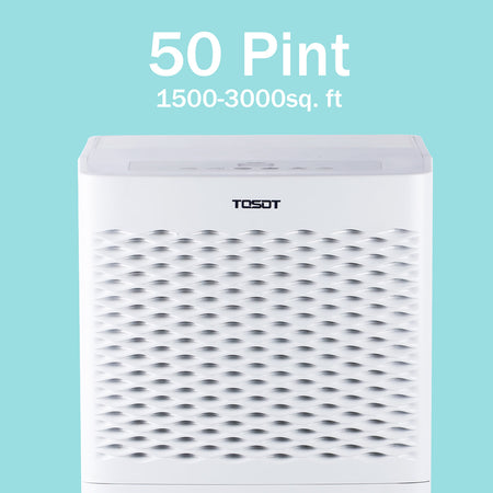 (Open Box) Tosot 3,000 Sq. Ft. 50 Pint Dehumidifier