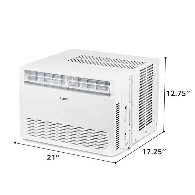 Open Box Tosot 8 000 Btu Window Air Conditioner