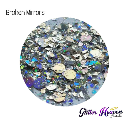 Broken Mirrors. 6-7 Grams