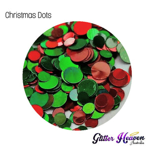 Christmas Dots 6-7 Grams