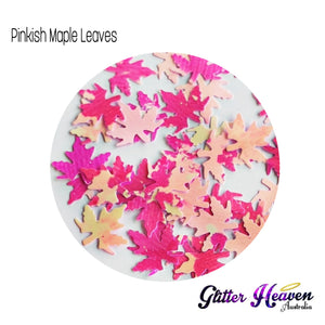 Pinkish Maple Leaves 7 to 8 grams