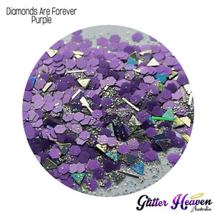 Diamonds Are Forever Purple. 7-8 Grams
