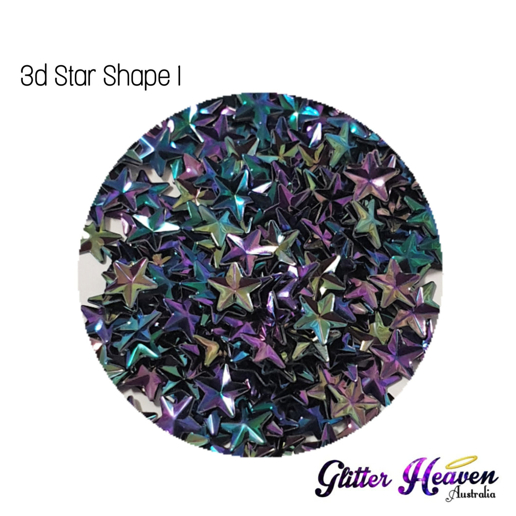 3d Jewellery Shapes Star 1. 6 Grams