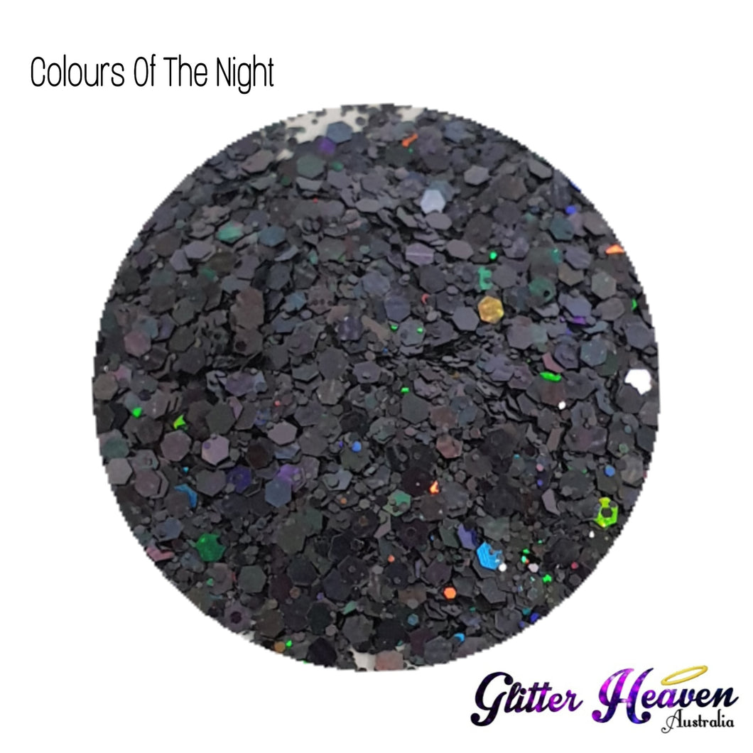 Colours Of The Night. 7-8 Grams