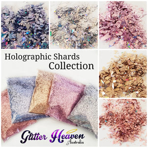 Holographic Shards Collection 10 grams of each colour