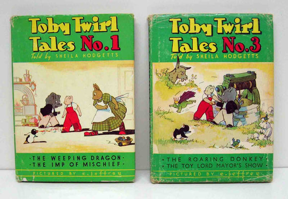 Toby and Twirl books