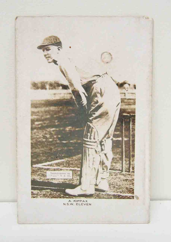 Cigarette card A. Kippax New South Wales #11