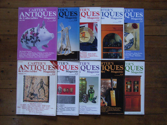 Carter's Antiques & Collectables 1992