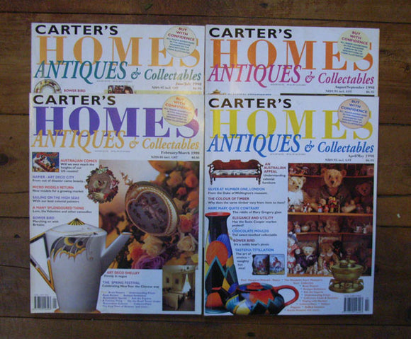 Carter's Home Antiques & Collectables 1998