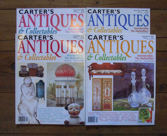 Carter's Antiques & Collectables 2001