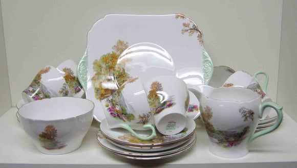 Shelley teaset