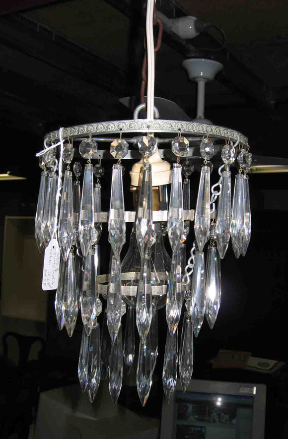 Crystal 3 tier chanderier