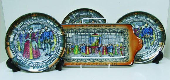 Royal Doulton Old Morton sandwich set
