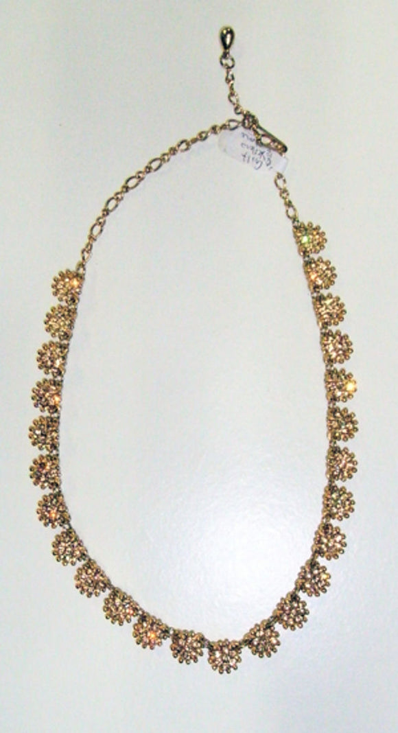 Angus & Coote gilt necklace