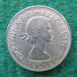 Australian 1962 Florin Queen Elizabeth II Coin - Circulated