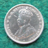 Australian 1918 M Shilling King George V Coin Circulated