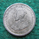 Australian 1927 Shilling Coin King George V Circulated