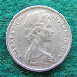 Australian 1969 5 Cent Queen Elizabeth II Coin - Circulated