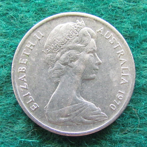 Australian 1970 5 Cent Queen Elizabeth II Coin - Circulated