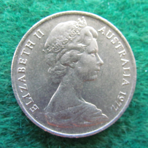 Australian 1977 10 Cent Queen Elizabeth II Coin - Circulated