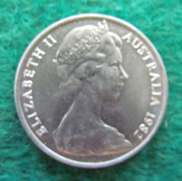 Australian 1982 10 Cent Queen Elizabeth II Coin - Circulated