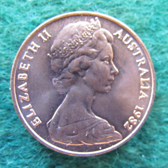 Australian 1982 2 Cent Queen Elizabeth II Coin - Uncirculated