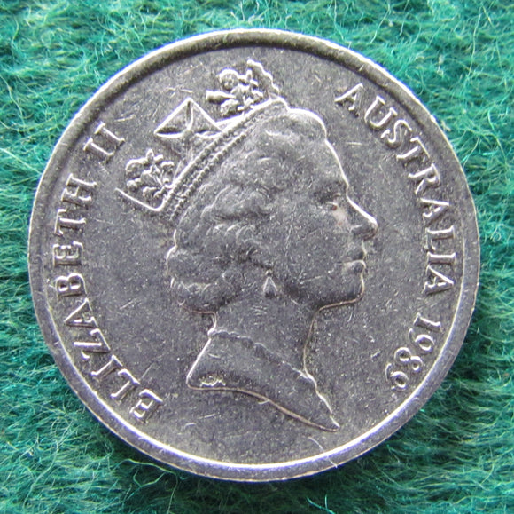 Australian 1989 10 Cent Queen Elizabeth II Coin - Circulated
