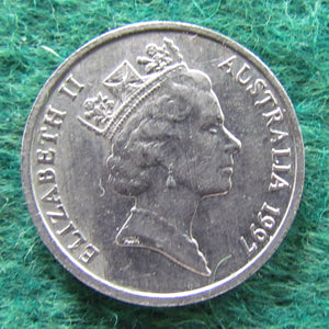 Australian 1997 10 Cent Queen Elizabeth II Coin - Circulated