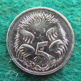 Australian 1998 5 Cent Queen Elizabeth II Coin - Circulated