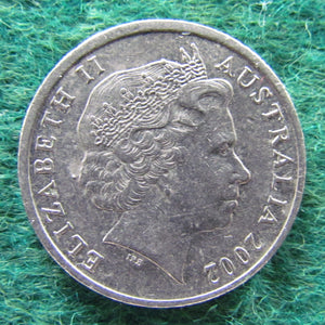 Australian 2002 10 Cent Queen Elizabeth II Coin - Circulated