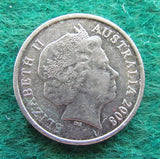 Australian 2008 5 Cent Queen Elizabeth II Coin - Circulated
