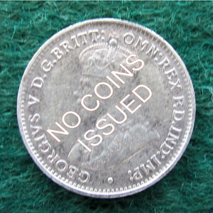 Australian 1913 Threepence King George V Coin