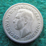 Australian 1950 Shilling King George VI Coin - Circulated