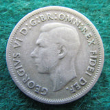 Australian 1952 Shilling King George VI Coin - Circulated