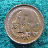 Australian 1973 1 Cent Queen Elizabeth Coin One Cent