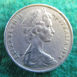 Australian 1974 20 Cent Queen Elizabeth Coin - Circulated
