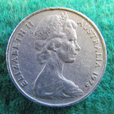 Australian 1975 20 Cent Queen Elizabeth Coin - Circulated