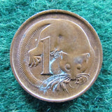 Australian 1978 1 Cent Queen Elizabeth Coin One Cent