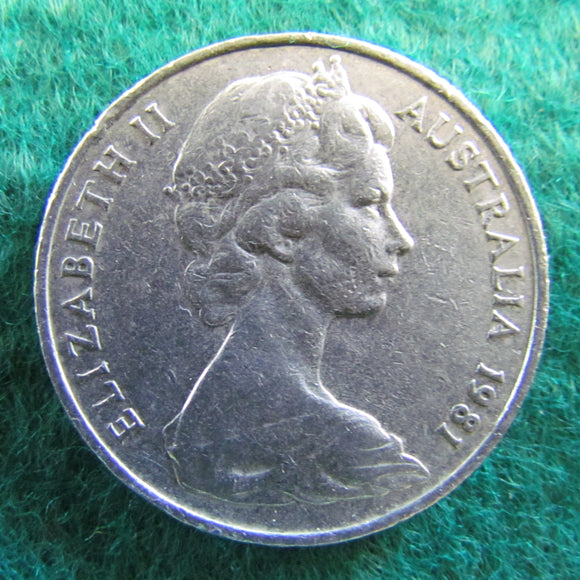 Australian 1981 20 Cent Queen Elizabeth Coin - Circulated