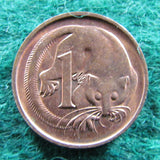 Australian 1990 1 Cent Queen Elizabeth Coin One Cent