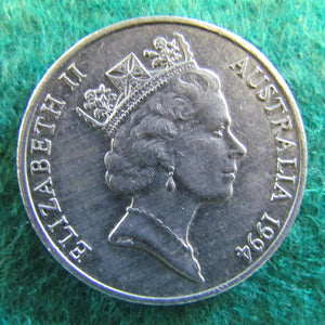 Australian 1994 20 Cent Queen Elizabeth Coin - Circulated