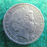 Australian 1999 20 Cent Queen Elizabeth Coin - Circulated
