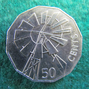 Australian 2002 50 Cent Coin Year Of The Outback