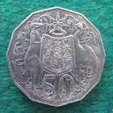 Australian 2010 50 Cent Coin Coat Of Arms - Circulated