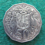 Australian 2011 50 Cent Coin Coat Of Arms - Circulated