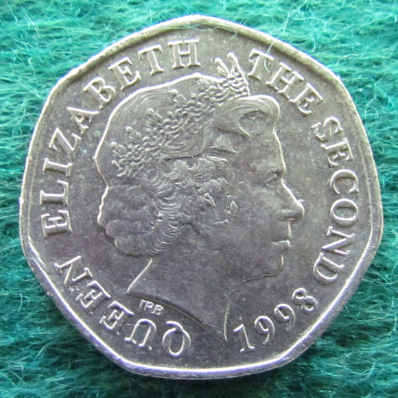 Bailiwick Of Jersey 1998 20 Pence Coin - Circulated