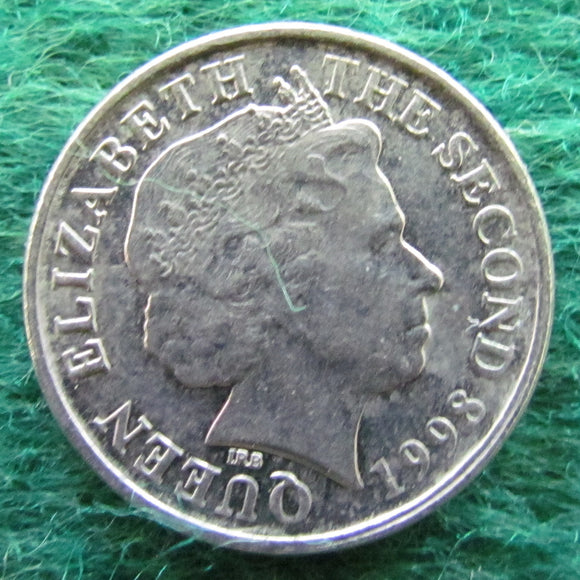 Bailiwick Of Jersey 1998 5 Pence Coin - Circulated