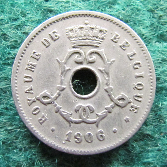 Belgium 1906 5 Centimes Coin - Circulated