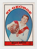 Scanlens 1968 A Grade NRL Football Card  #12 - Billy Smith - St George
