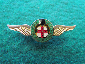 Lawn Bowls Badge Dubbo Railway Flying Bowlers
